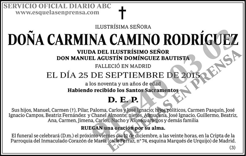 Carmina Camino Rodríguez